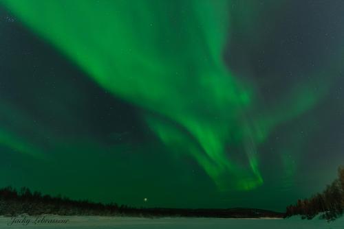 Aurores boréales - Laponie