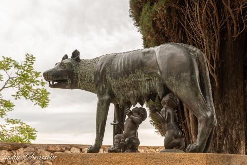 Romulus et Rémus - La louve