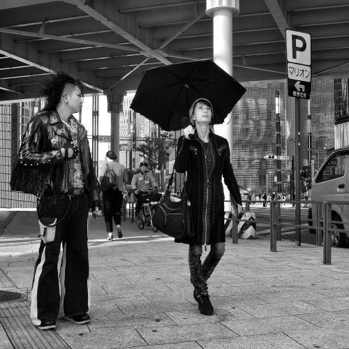 P comme parapluie