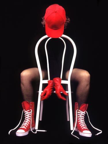 Les baskets rouges