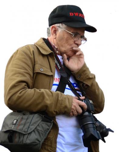 2014 - Gilbert Guillotin recherche l'angle de prise de vue